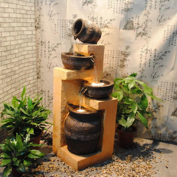 домашний фонтан фото оформления