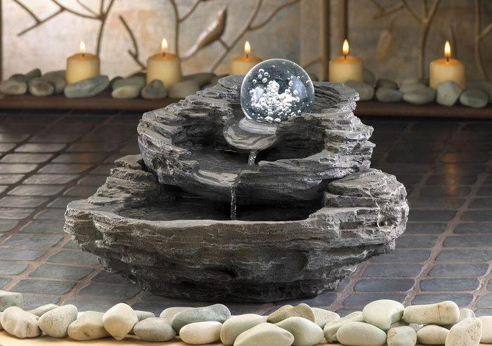 домашний фонтан фото