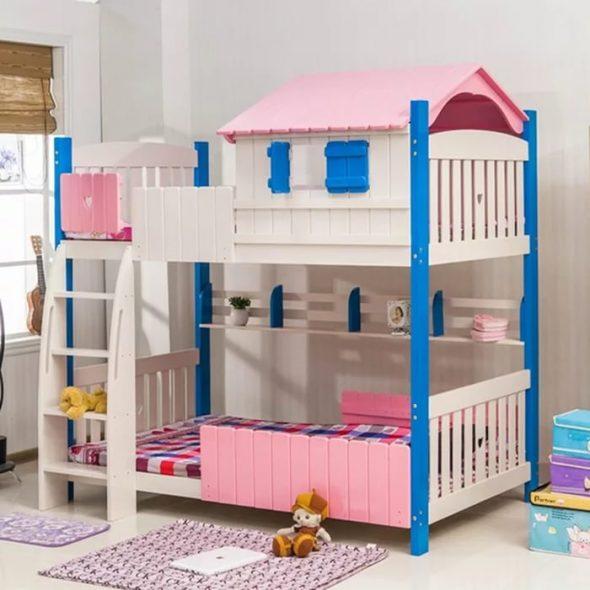 детская кровать-домик