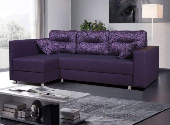 диван уголок с подушками