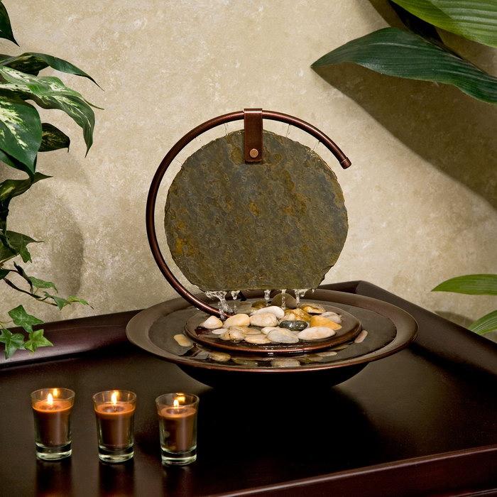 фонтан в квартире оформление фото