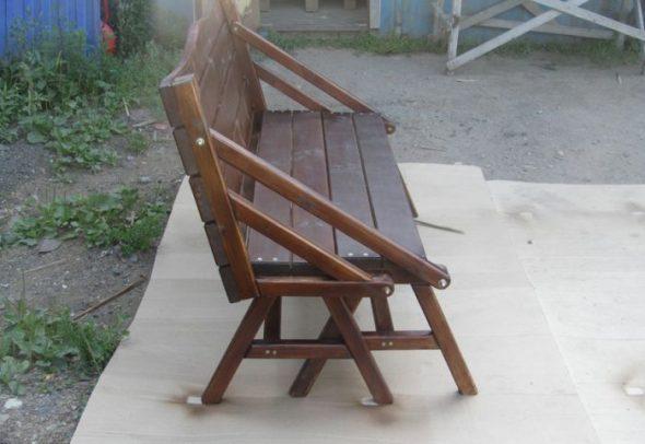 готовая скамейка