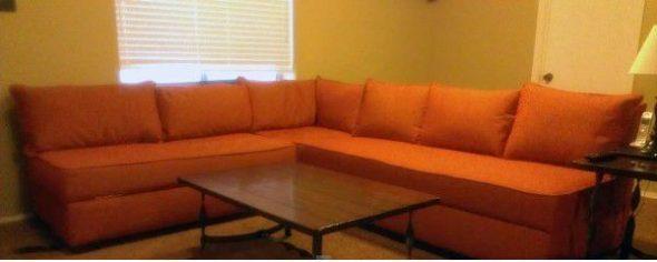 Готовый угловой диван
