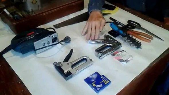 Инструменты для реставрации и изготовления мебели