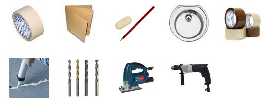 Инструменты для замены столешницы