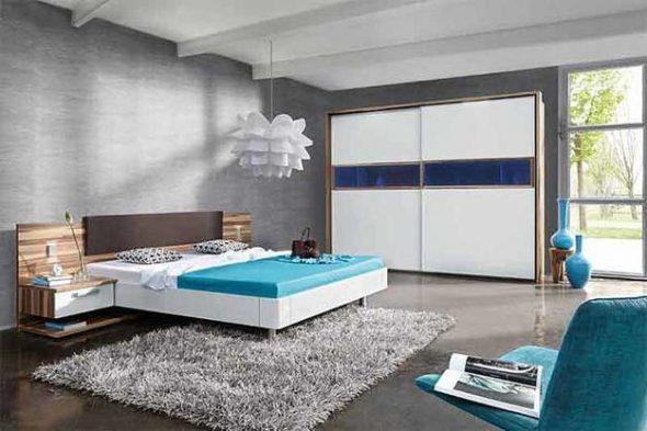 Интерьер большой и просторной комнаты