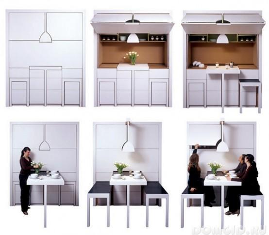 Мебель-трансформер для кухни