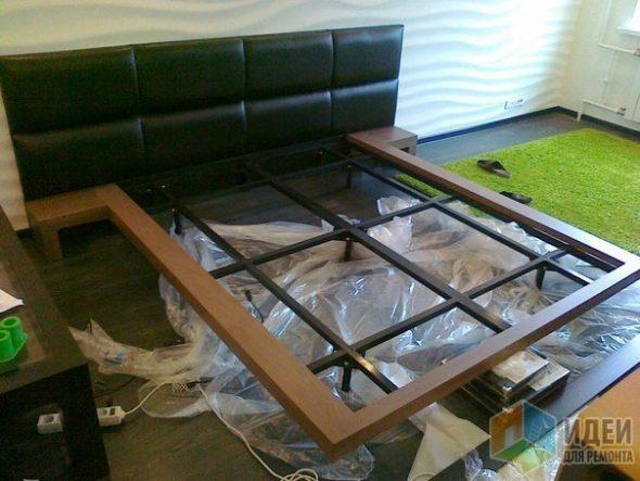 Конструкция парящей кровати