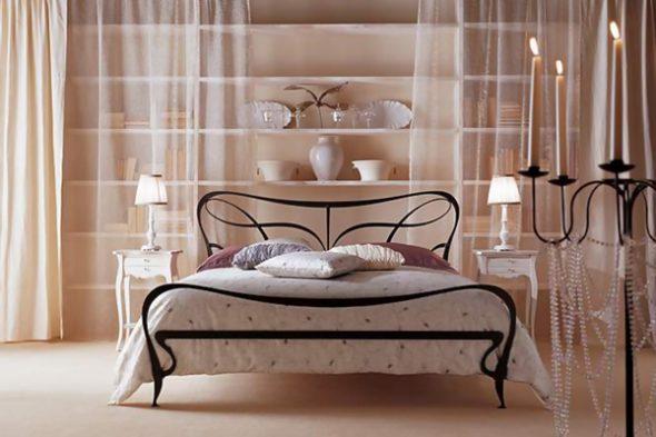 кованые кровати фото