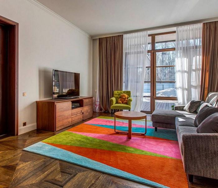 ковры в интерьере фото декора