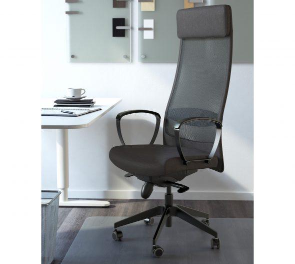 кресло с акриловой сеткой