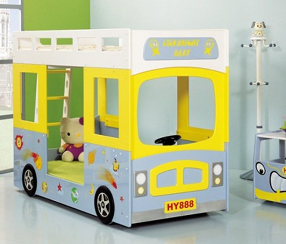 кровать-автобус