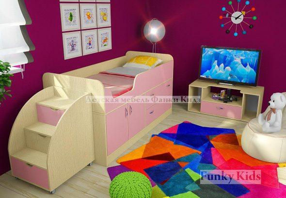 кровать в детскую фанки кидс