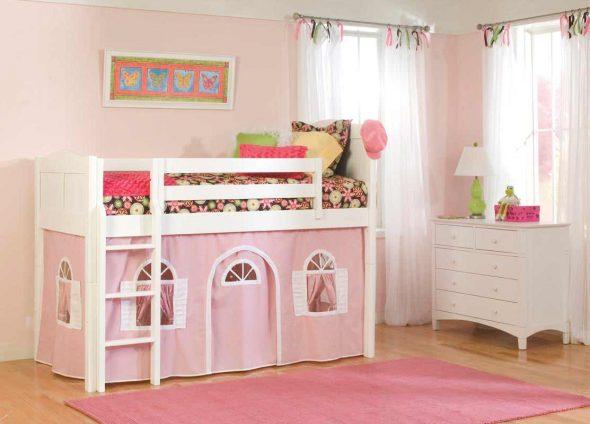 Кровать для юной принцессы