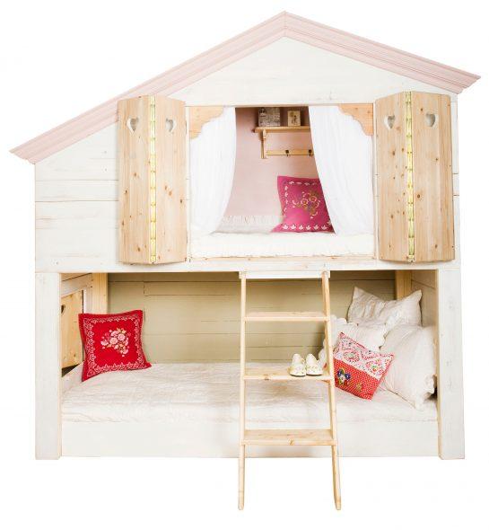 домик кровать со шторками