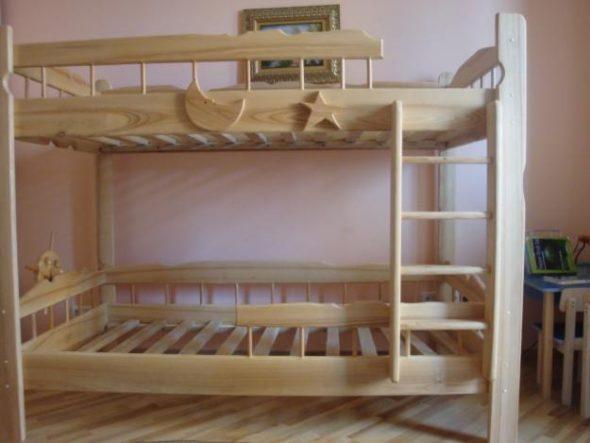 кровать двухъярусная врунгель