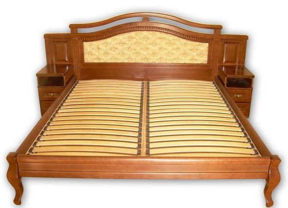 кровать ламели