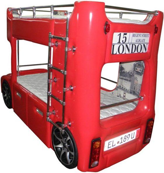 кровать лондонской автобус