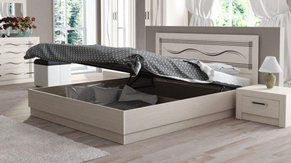 подъемная кровать для спальни