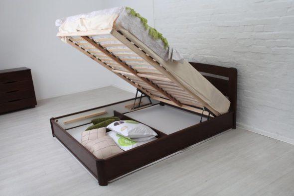 кровать с ящиком для вещей
