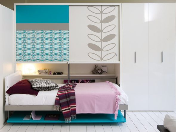 Кровать встроенная в комод