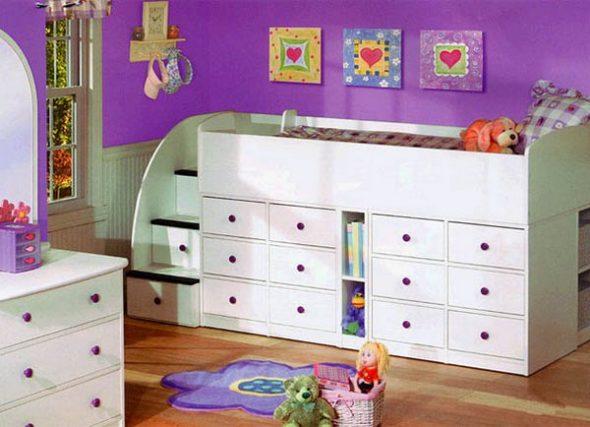 кровати для детской комнаты фото