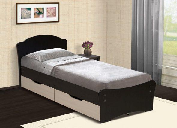кровати односпальные с ящиками