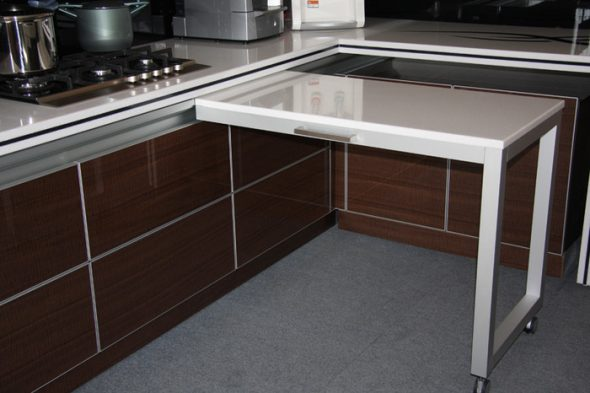 кухонный стол выдвижной