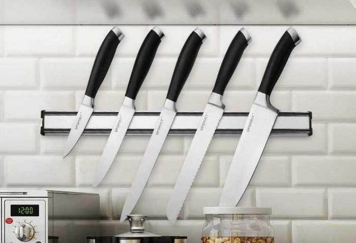 магнитные держатели для ножей