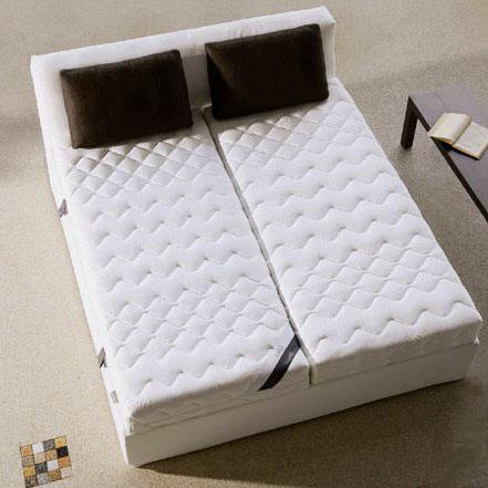 Матрас на двуспальную кровать из двух частей