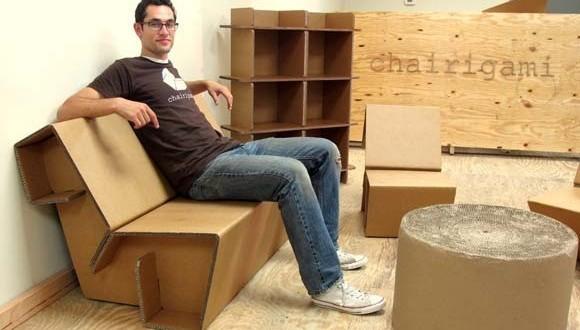 Мебель из подручных материалов
