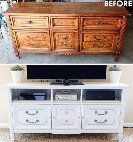 Мебель, окрашенная в белый цвет