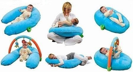 Использование подушек для кормления