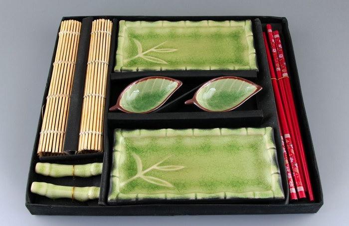 набор для суши бамбук