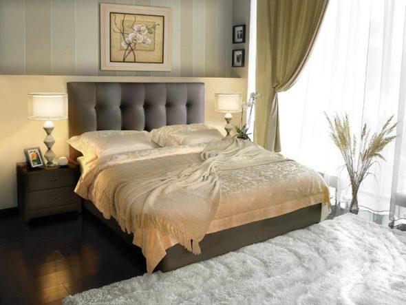 Современная кровать Silvana