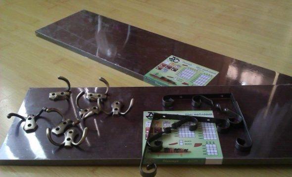 инструменты для настенной вешалки