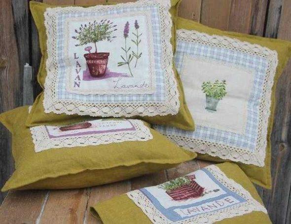 Наволочки и декоративные подушки