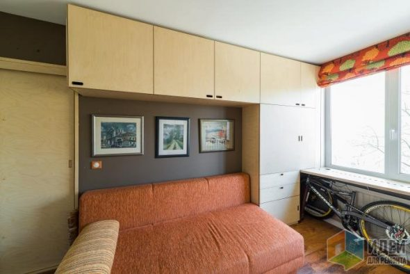 Нестандартная мебель для гостиной из фанеры