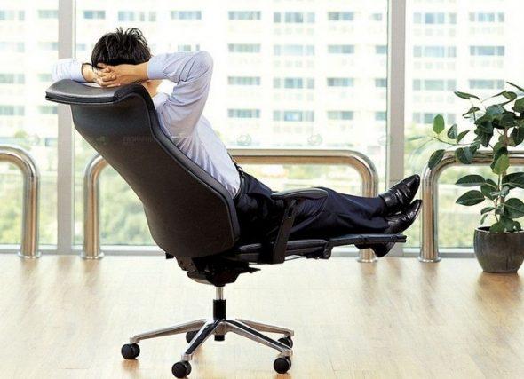 офисное кресло механизм качания