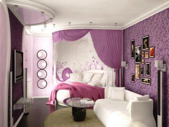 оформление комнати для девочки