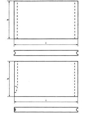 Схема пазовых плит