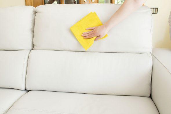 почистить мебель