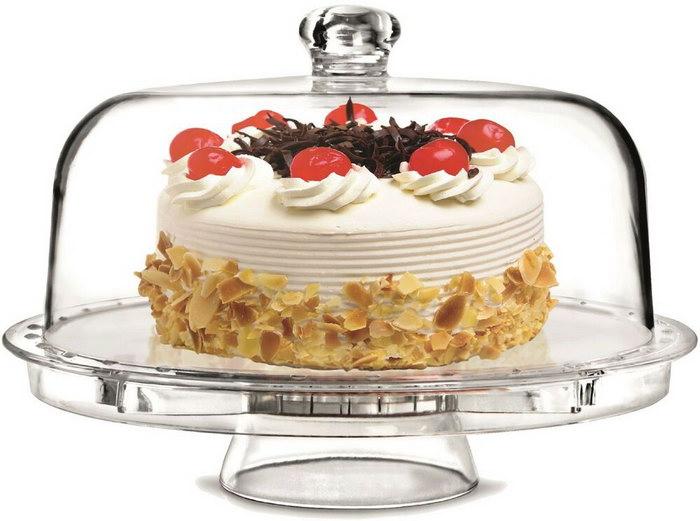 подставка для тортов с крышкой
