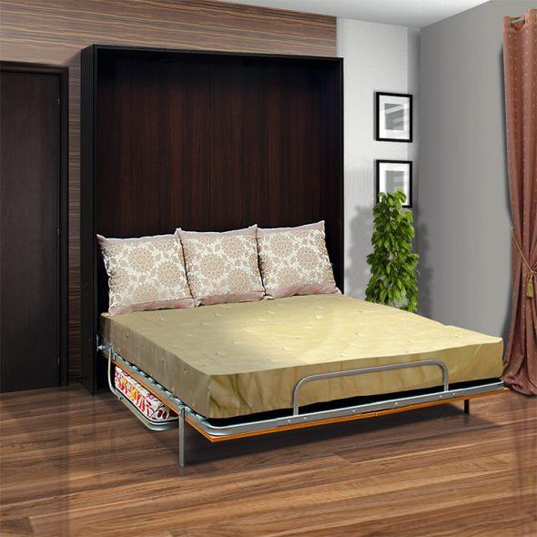 кровать из железа