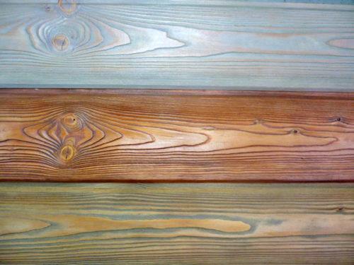 Покраска состаренной древесины