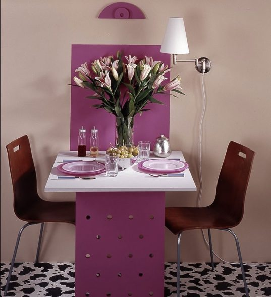 Полноценный откидной стол