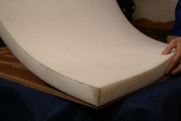 Поролон для мягкого сиденья