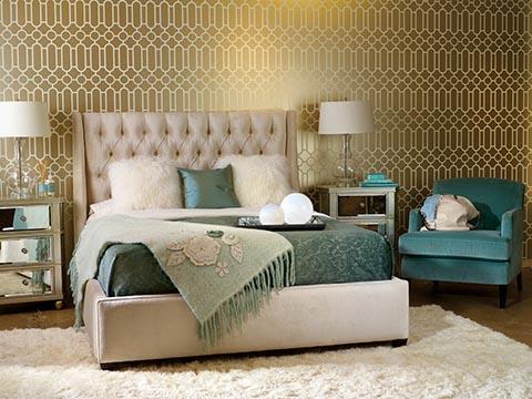 поставить кровать в спальне по фен-шуй