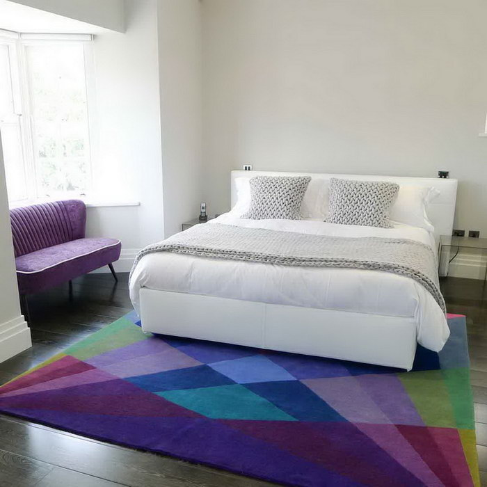 прикроватные классические коврики для спальни виды дизайна