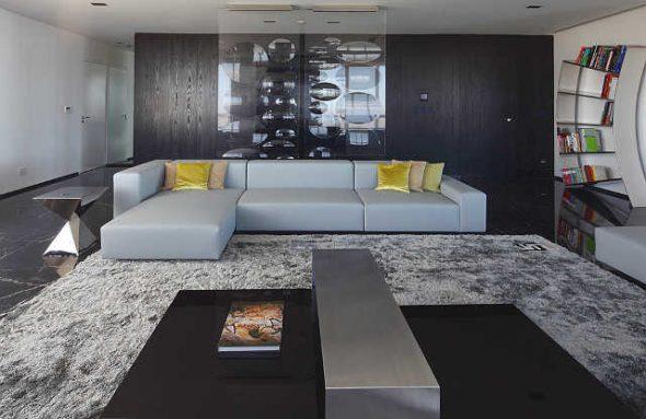 Простая мебель для стильной гостиной